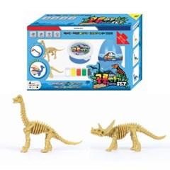 7000 공룡만들기 클레이 블루SET (아파토사우루스, 트리_(2890230)
