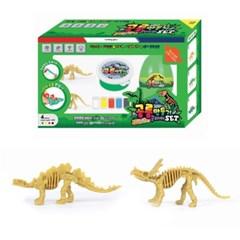 7000 공룡만들기 클레이 그린SET (스테고사우루스, 센트_(2890228)