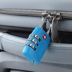 심플락 3자리 TSA자물쇠/ 미국여행 캐리어자물쇠