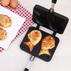 홈메이드 붕어빵만들기 붕어빵틀 와플팬_(150282)