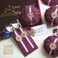 순수담 K3775RA 예단 2인반상기 선물세트 2호_(1308731)