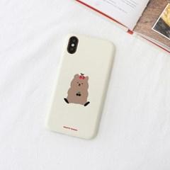 체리쿼카(크림) 225 아이폰/LG 폰케이스&스마트톡