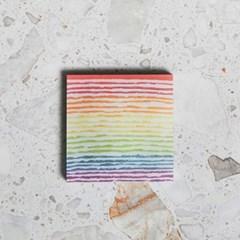 [빌리엔젤] 레인보우 크레이프 포스트잇