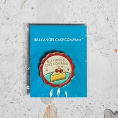 [빌리엔젤] 체리 치즈케이크 뱃지