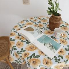 빈티지 로즈 테이블 클로스