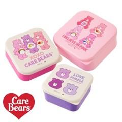 [Care Bears] 케어베어 런치박스 3P