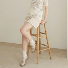 DEAR APRIL knit skirt