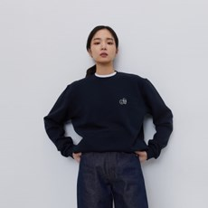 [에이카 화이트]NOTE SWEATSHIRT-DEEP NAVY