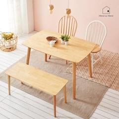 원목감성 식탁 겸 테이블 1280 AD003_(2617795)