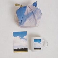 제주 풍경 머그컵 세트(머그컵+패브릭포스터)