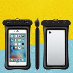 물에 뜨는 IPX8등급 튜브 핸드폰 방수팩 케이스