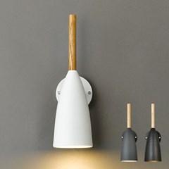 LED 벽등 코이 우드 1등 직부등_(1848014)