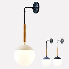 LED 벽등 이안 우드 1등 직부등_(1848013)