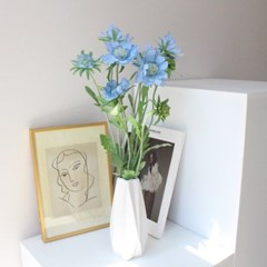 고급스러운 스카비오사 조화꽃 인테리어 조화부쉬(3color)