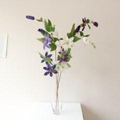 고급스러운 클레마티스 인테리어 조화꽃장식(3color)