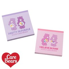 [Care Bears] 케어베어 스퀘어 메모지