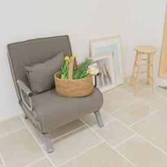 접이식 소파 베드 (의자 겸용, 2 Color)