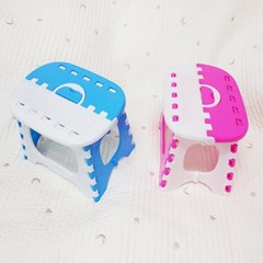 접이식의자 발디딤대 미니의자 접이식휴대용의자