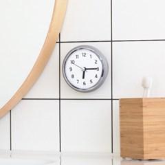 데일리 욕실시계 (흡착/방수/건전지포함)