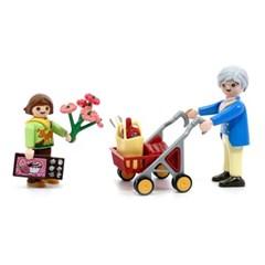 플레이모빌 할머니와 어린이 70194