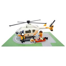 플레이모빌 구조 헬리콥터 70048