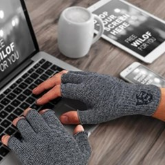 [VITAL바이탈] 게르마늄 오픈 핑거 손목 보호대 (2개)
