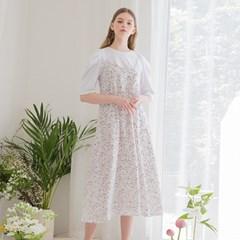[클렛] STRING DOT LAYERED DRESS