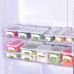1종 3개 X 2set 냉장고 냉동실 정리용기