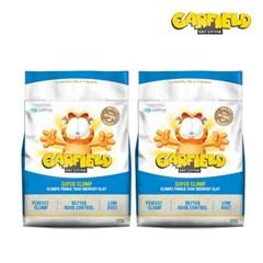 가필드 파랑 고양이 모래(2개 SET) 9.06 Kg (가는 입자)