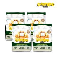 가필드 그린 고양이 모래 (4개 SET) 4.53 Kg (가는 입자)