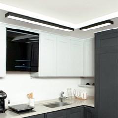 플레인 슬림 LED 주방/욕실등 30W