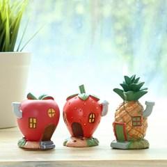 과일 하우스 미니어쳐 3type