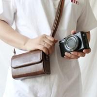 하이엔드 콤팩트 카메라 가방 파우치 소니 니콘 라이카 리코