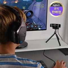 [특가] 로지텍코리아 정품 C922 HD 스트리밍캠 삼각대포함