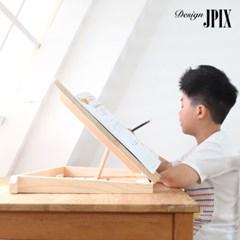 제이픽스 편백나무 각도조절 800 보조책상 특대형 / JBS19S