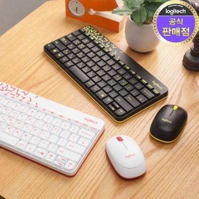 로지텍 코리아 MK240 NANO 무선 키보드 마우스 Set