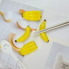 바나나 수저받침(4개세트)