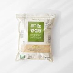 오르지오 유기농 황설탕 5kg
