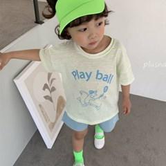 플) 플레이볼 아동 반팔티셔츠