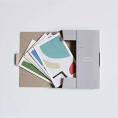 POST CARD 16 SET 디자인 엽서 16장 세트