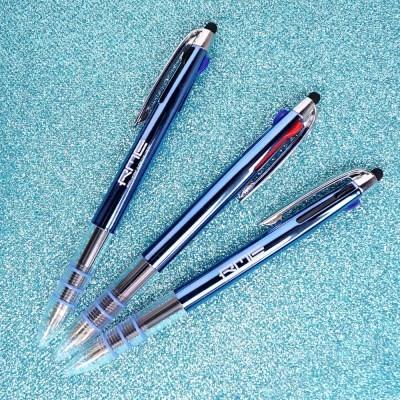 [RME] 알엠이 3색볼펜 스마트폰 터치펜 ballpoint pen 0.7mm