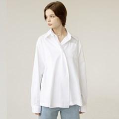 아더로브 원버튼 오버사이즈 셔츠 AST201002-WT