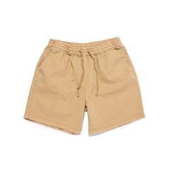 [BIGWAVE COLLECTIVE] SULFUR DYE EASY SHORTS (STANDARD BEIGE)