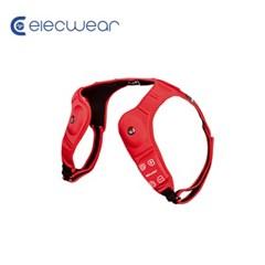 일렉웨어 LED 웨어러블 스피커 레드/블루투스 스피커/스피커+방향등