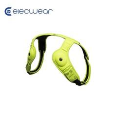 일렉웨어 LED 웨어러블 스피커 그린/블루투스 스피커/스피커+방향등