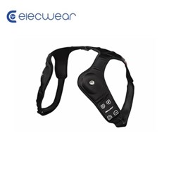 일렉웨어 LED 웨어러블 스피커 블랙/블루투스 스피커/스피커+방향등