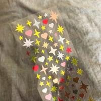 [스튜디오 퐁듀] sparkling 스파클링(은광) 씰스티커