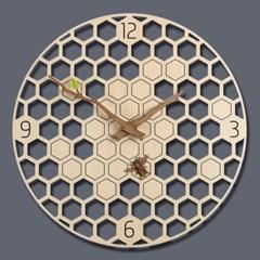 (ktk157)저소음 꿀벌 벽시계_(698306)