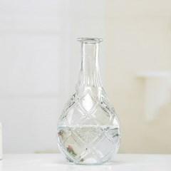 조개 무늬 투명 유리병 수경재배 VASE_(1101792)
