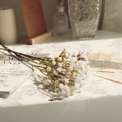 플르다 잔잔한 감성조화 안개꽃가지